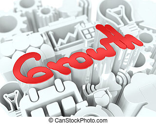 Growth Concept on White Background.