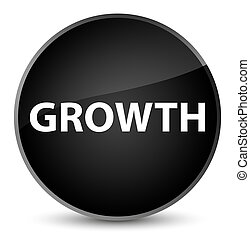 Growth elegant black round button