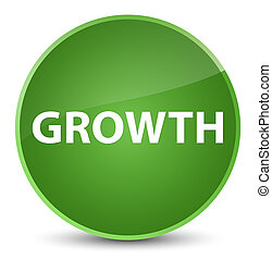 Growth elegant soft green round button