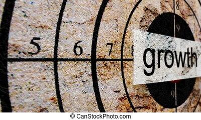 Growth grunge target
