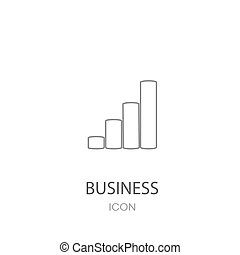 Growth of business Icon