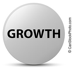 Growth white round button