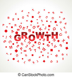Growth word with in alphabets