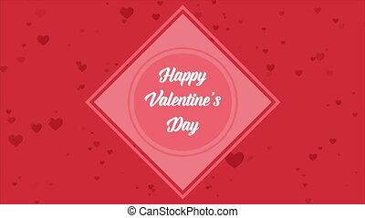 gruß, valentine, tag, mit, animation, liebe