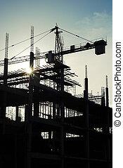 grue, construction