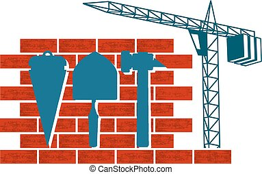 grue, construction, symbole
