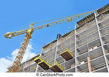 grue, site construction