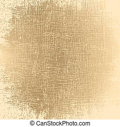 Gruge Texture - Canvas. EPS10 vector.