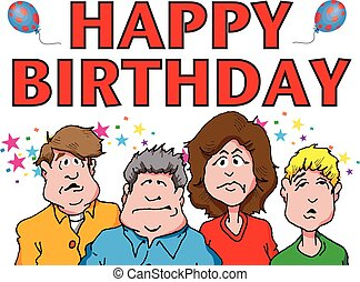 grumps, urodziny, szczęśliwy