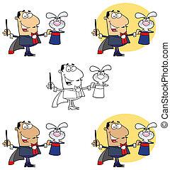 Bunny In A Caucasian Magician - Grumpy Bunny In A Caucasian ...