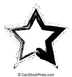 grunge, étoile