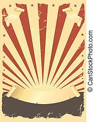 grunge , αμερικανός , αφίσα