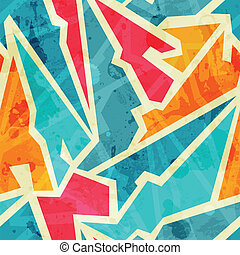 grunge , γκράφιτι , seamless, πρότυπο