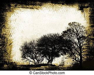 grunge , δέντρα