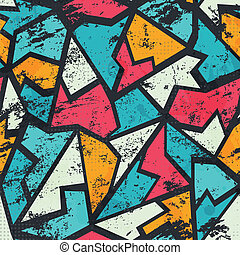 grunge , πρότυπο , γκράφιτι , έγχρωμος , seamless