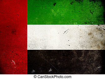 grunge , σημαία , uae