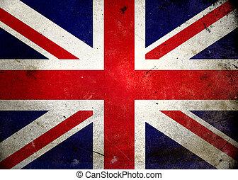 grunge , σημαία , uk