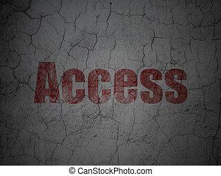 grunge , τοίχοs , πρόσβαση , ασφάλεια , φόντο , concept: