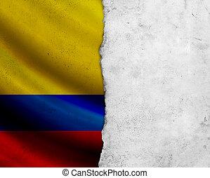 grunge, 哥倫比亞旗