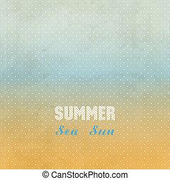 grunge, 夏天, editable, 容易, 背景。