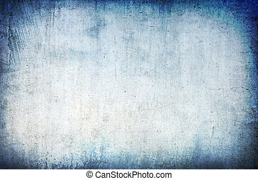 grunge, 摘要, 藍色的背景