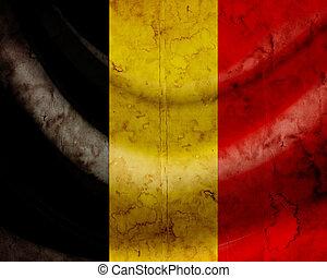 grunge, 旗, 比利時