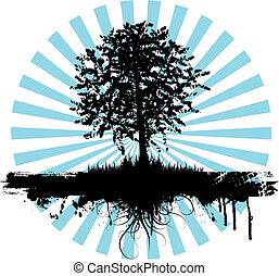 grunge, 树