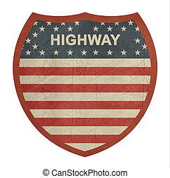 grunge, 美國人, 州際的公路, 簽署, 2