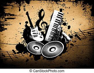 grunge, 音樂