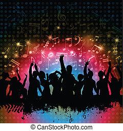 grunge, 파티, 배경
