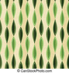 grunge, 패턴, 떼어내다, seamless, 효과, 잎