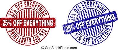 Grunge 25% OFF EVERYTHING Scratched Round Stamp Seals
