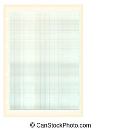 grunge a4 graph paper blue - blue grid graph paper ideal...