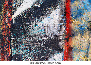 Grunge abstract background, concrete wall surface