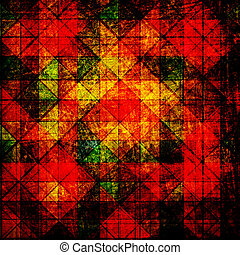 grunge abstract colorful canvas background