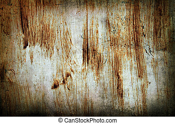 grunge abstract rusted metal background