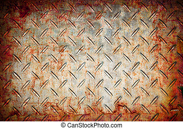 grunge abstract rusty metal pattern background