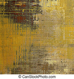 Grunge abstract textured background, aged backdrop with different color patterns: yellow (beige); brown; red (orange); gray