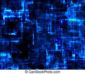 grunge, abstrakt, technologie, hintergrund, cyberspace