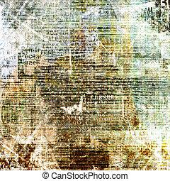 grunge, abstrakt, zerrissene , altes , design, hintergrund,...