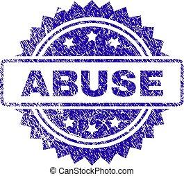 Grunge ABUSE Stamp Seal