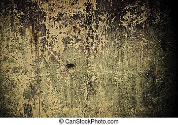 grunge, af træ, baggrund