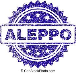 Grunge ALEPPO Stamp Seal
