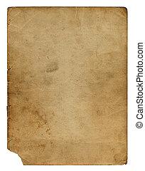 Grunge alienated paper design in scrapbooking style