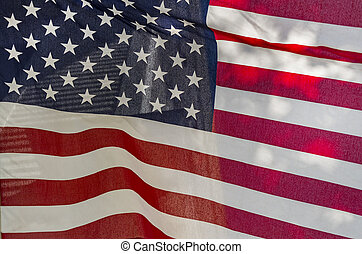 grunge American called flag Stars sand Stripes