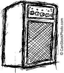 grunge amp