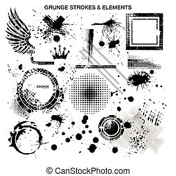 Grunge and strokes