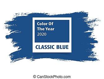 grunge, année, arrière-plan., palette, couleur