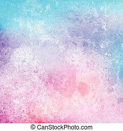grunge, aquarela, textura, fundo