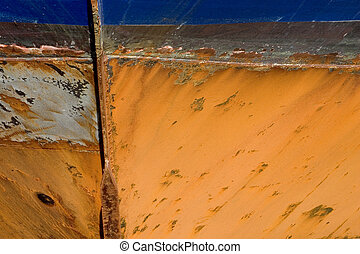 Grunge Background 29:Ship Hull